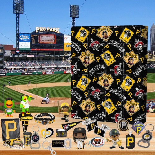 ⚾MLB  Advent Calendar - Pittsburgh Pirates🎁 The best gift choice for fans