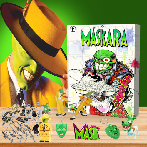🤡Limited Edition Advent Calendar -  The Mask🎁 The best gift choice for fans