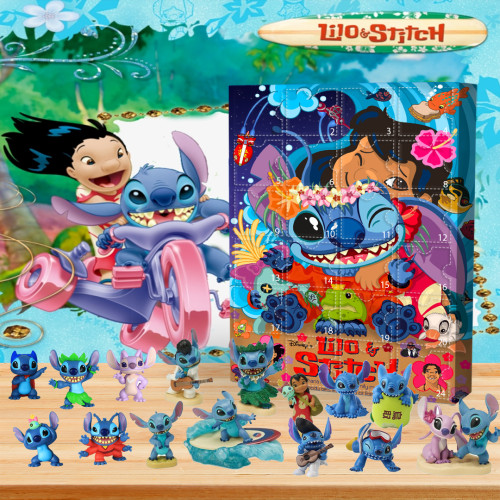 🏝Advent Calendar - Stitch🎁 The best gift choice for fans