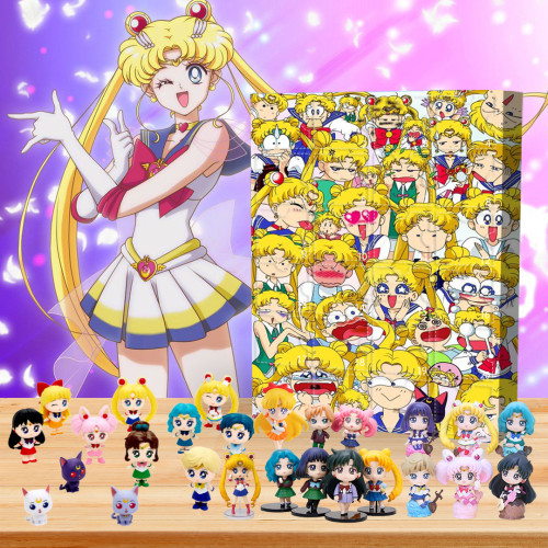 ✨Limited Edition  Advent Calendar - Sailor Moon🎁 The best gift choice for fans