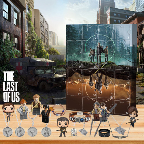 💀Limited Edition  Advent Calendar - The Last of Us🎁 The best gift choice for fans