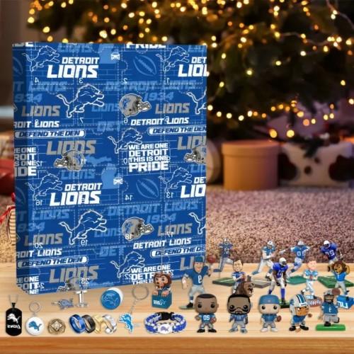 🏈NFL Detroit Lions Advent Calendar🎁 The best gift choice for fans