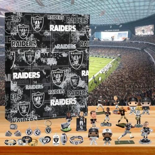 🏈NFL Las Vegas Raiders Advent Calendar🎁 The best gift choice for fans