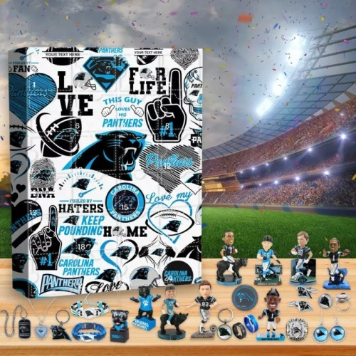 🏈NFL Carolina Panthers Advent Calendar🎁 The best gift choice for fans