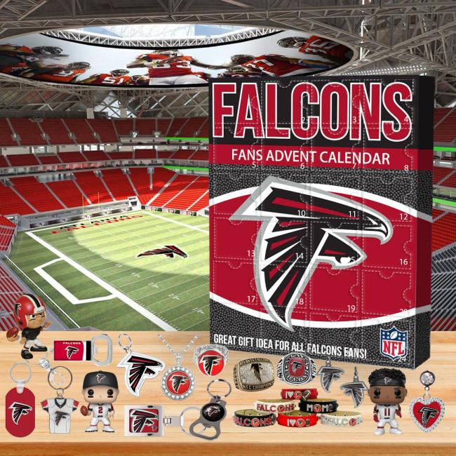 🏈NFL Atlanta Falcons Advent Calendar🎁 The best gift choice for fans