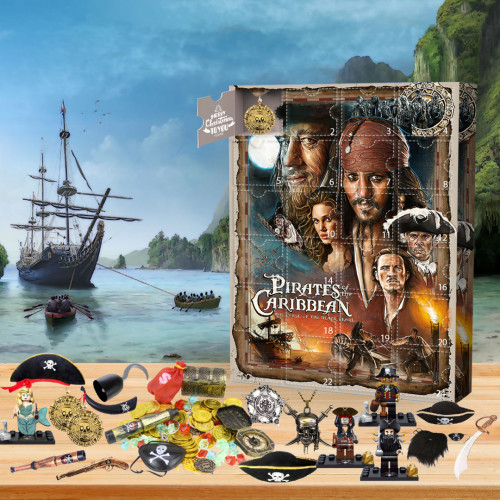 💀2022 Limited Edition  Advent Calendar - Pirates of the Caribbean🎁 The best gift choice for fans