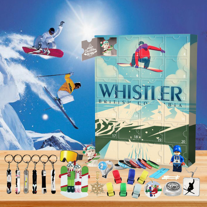 🏂2022 Limited Edition  Advent Calendar - Snowboarding🎁 The best gift choice for fans