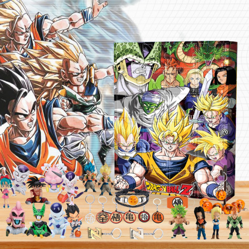 🐉2022 Limited Edition  Advent Calendar - Dragon Ball Z🎁 The best gift choice for fans