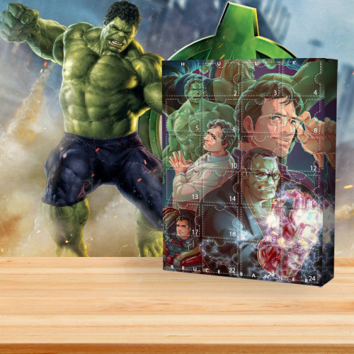 🧞♂️2022 Marvel Limited Edition  Advent Calendar - Hulk🎁 The best gift choice for fans