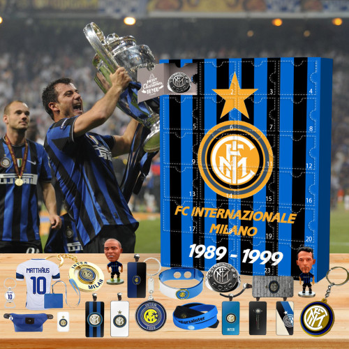 ⚽2022 Limited Edition  Advent Calendar - FC Internazionale Milano🎁 The best gift choice for fans
