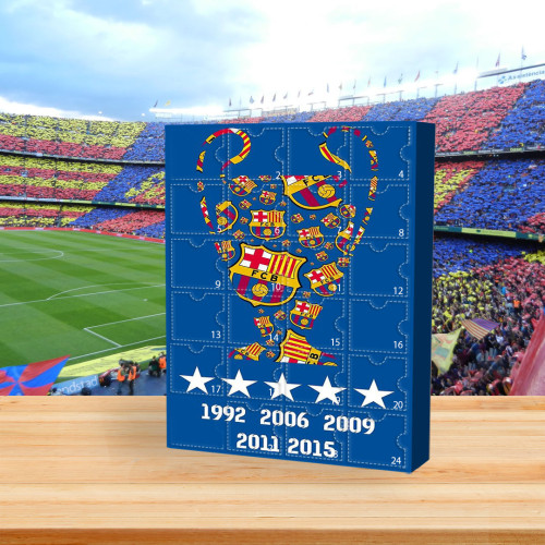 ⚽2022 Limited Edition  Advent Calendar - FC Barcelona🎁 The best gift choice for fans