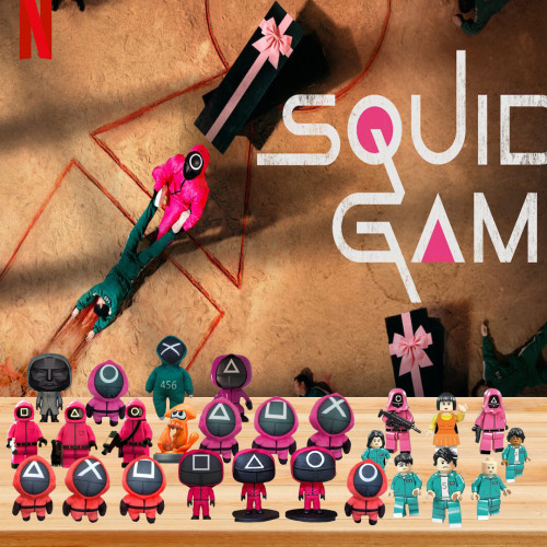 🦑2022 Limited Edition  Advent Calendar - Squid Game🎁 The best gift choice for fans