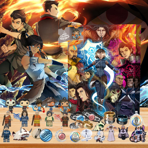 🎄2022 Limited Edition  Advent Calendar - The Legend of Korra🎁 The best gift choice for fans