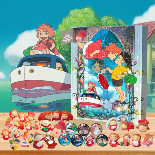 🐟2022 Limited Edition  Advent Calendar - Ponyo🎁 The best gift choice for fans