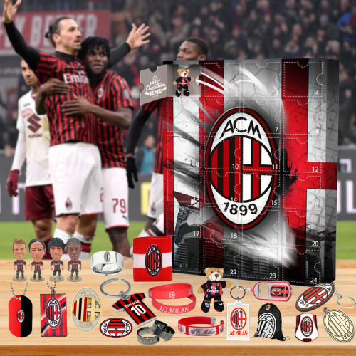 ⚽2022 Limited Edition  Advent Calendar - AC Milan🎁 The best gift choice for fans