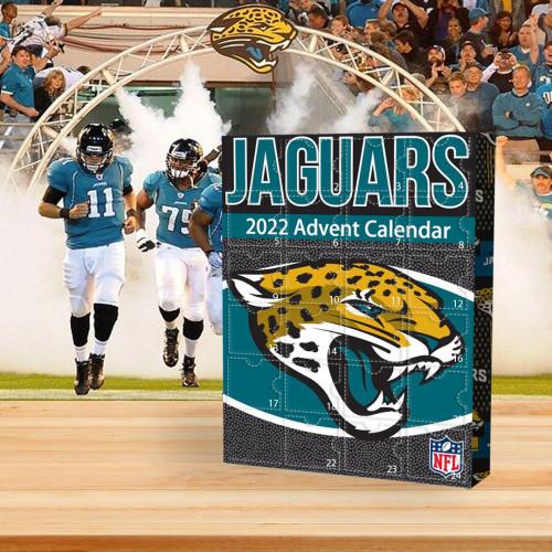 🏈NFL Jacksonville Jaguars Advent Calendar🎁 The best gift choice for fans