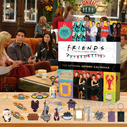 ☕2022 Limited Edition  Advent Calendar - Friends🎁 The best gift choice for fans