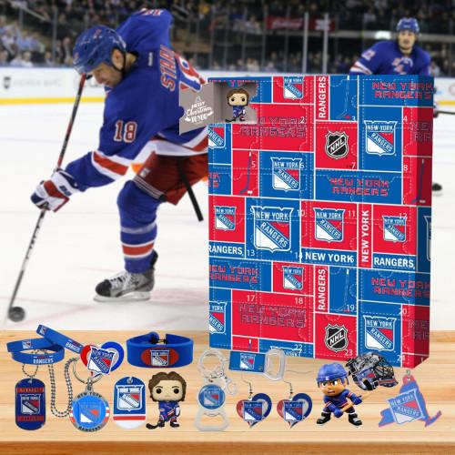 🏒NHL New York Rangers Advent Calendar🎁 The best gift choice for fans