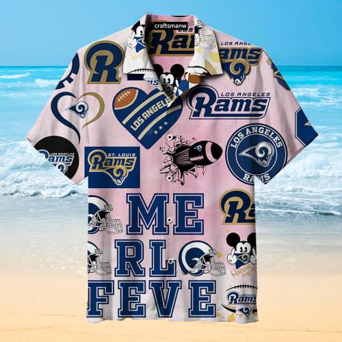Los Angeles Rams & St. Louis Rams Unisex Hawaiian Shirt