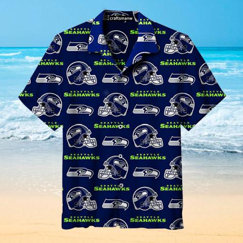 The Seattle Seahawks Print Unisex Hawaiian shirt