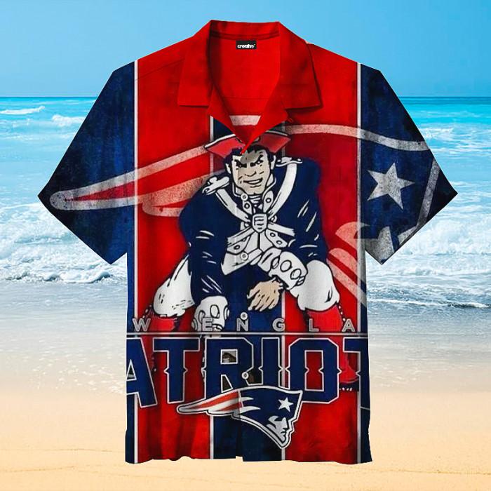 New England Patriots Hawaiian shirt
