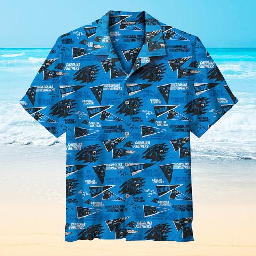 Carolina Panthers CAR Unisex Hawaiian Short Sleeve Shirt