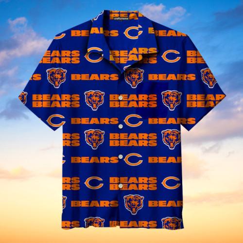 Chicago Bears Print Unisex Hawaiian Shirt