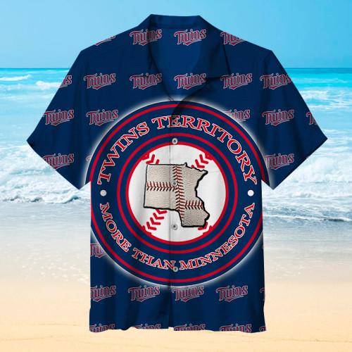 MLB Won 3 world championships - Minnesota Twins - Hawaiian shirt