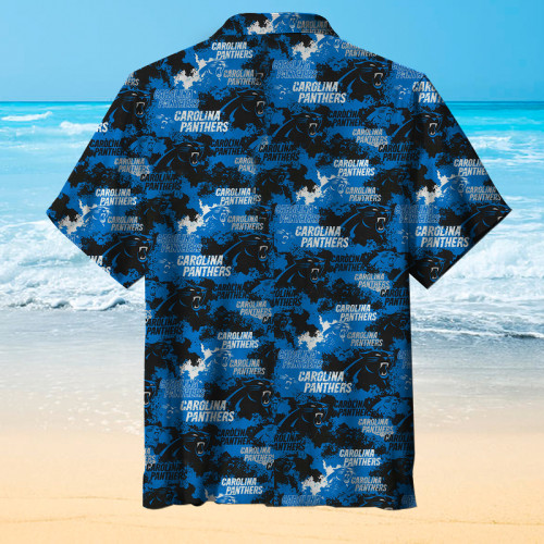 Carolina Panthers Unisex Short Sleeve Hawaiian Shirt