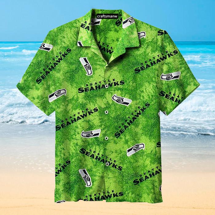 Seattle Seahawks Life Green Unisex Hawaiian shirt
