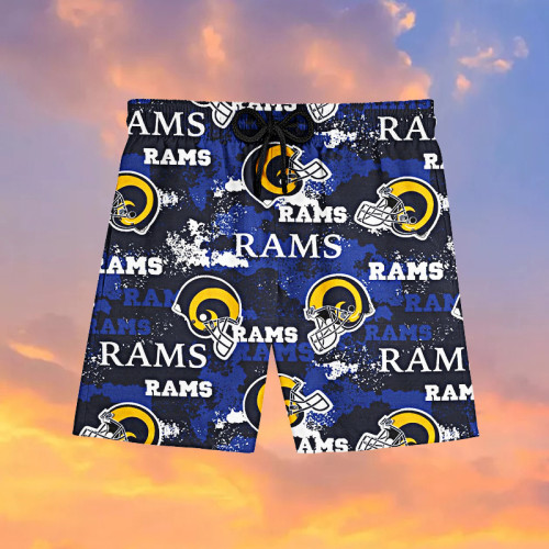 Los Angeles Rams Hawaiian Shorts