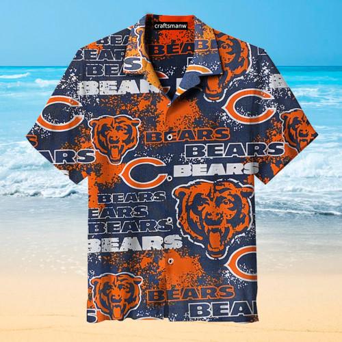 Amazing Chicago Bears Unisex Hawaiian Shirt