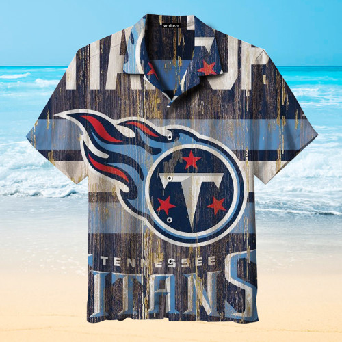 Tennessee Titans Vintage Hawaiian Shirt