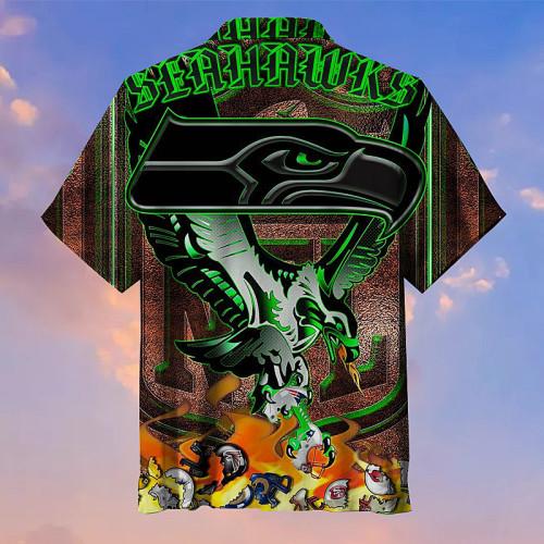 The Seattle King Seahawks Unisex Hawaiian Shirt