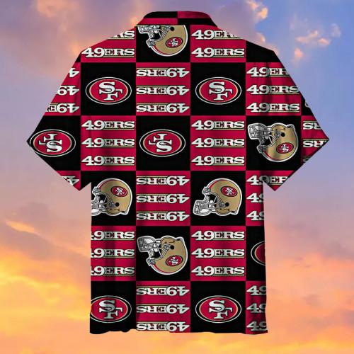 San Francisco 49ers Hawaiian Shirt