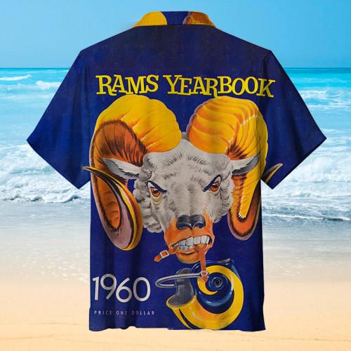 Los Angeles Rams Classic Print Hawaiian Shirt