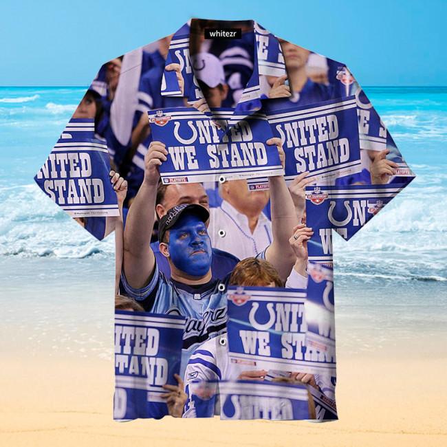 Indianapolis Colts Fan Hawaiian Shirt