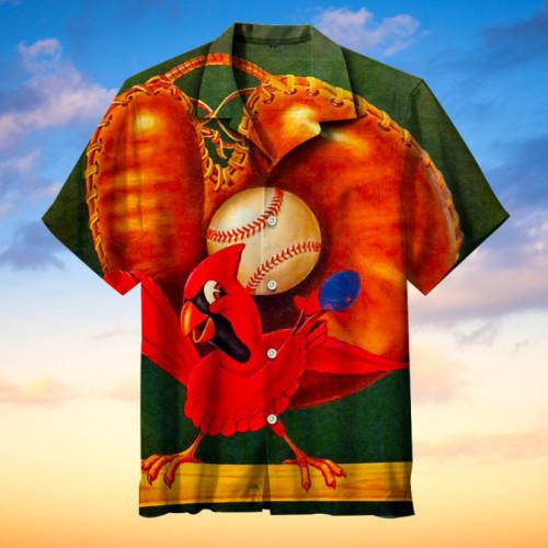 St. Louis Cardinals Hawaiian Short Sleeve Shirt