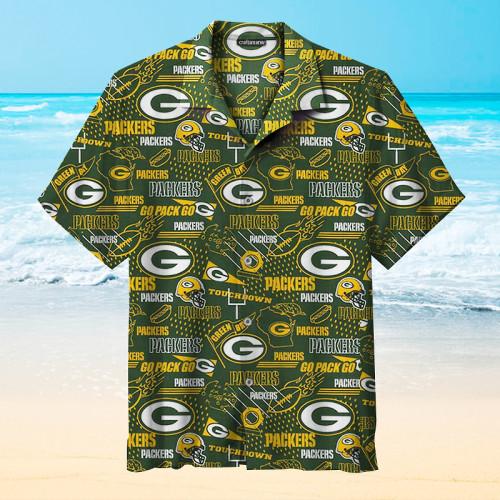 The Green Bay Packers Pring Unisex Hawaiian Shirts