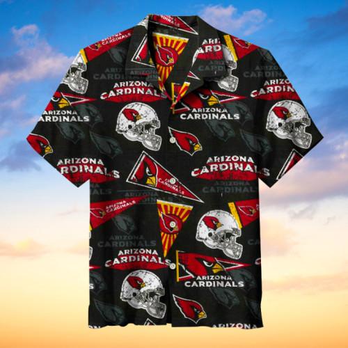 Arizona Cardinals Hawaiian Short Sleeve Shirt