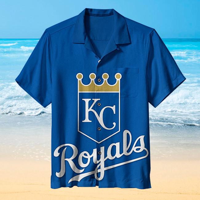 Kansas City Royals MLB Baseball Stylish Print Unisex Hawaiian Shirt