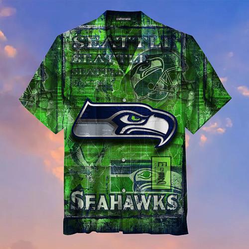 Seattle Seahawks Unisex Short Sleeve Hawaiian Shirt