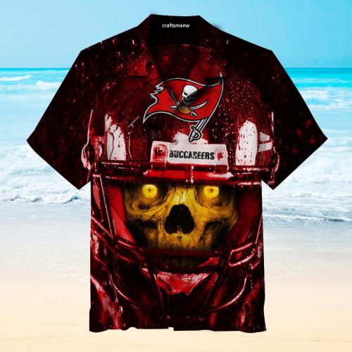 Amazing Tampa Bay Buccaneers Unisex Hawaiian Short Sleeve Shirt