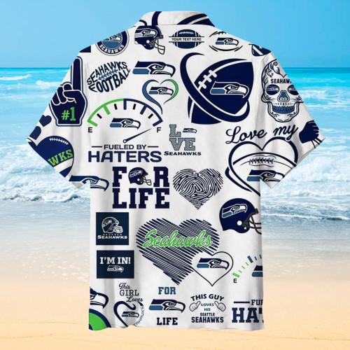 Seattle Seahawks - My Favorite Team Unisex Hawaiian Shirt