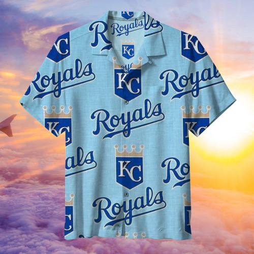 MLB Kansas City Royals -  Hawaiian shirt