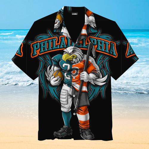 Philadelphia Eagles Hawaiian shirt