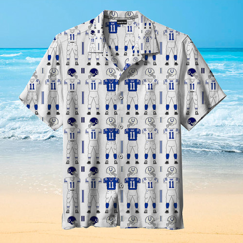 Indianapolis Colts Hawaiian Shirt