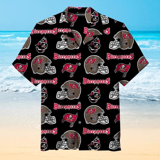Tampa Bay Buccaneers Fashion Print Unisex Hawaiian Shirt