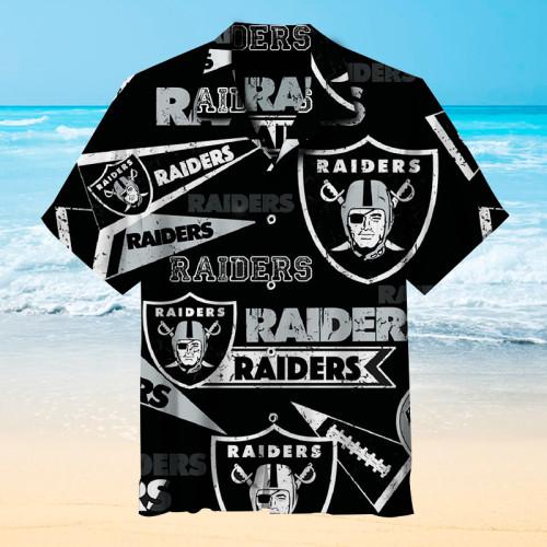 Las Vegas Raiders - Hawaiian Shirt