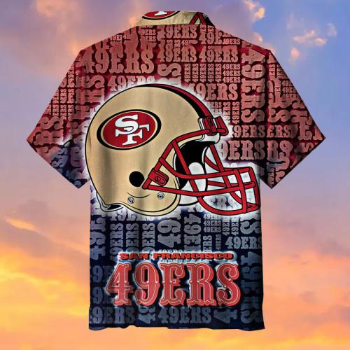 The San Francisco 49ers Retro Hawaiian Shirt